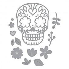 Spellbinders Die D-Lites Sugar Skull