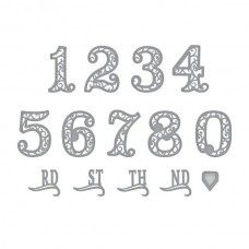 Spellbinders Die Filigree Numbers