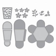 Spellbinders Die Hexagon Petal Box