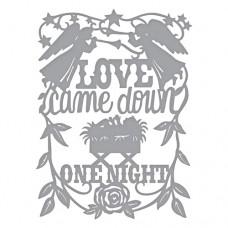Spellbinder Die - Love Came Down