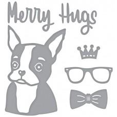 Spellbinder Die - Merry Hugs
