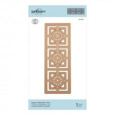 Spellbinders Shapeabilities Square Medallion Tiles