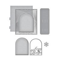 Spellbinder Die Grand Christmas Lattice Arch