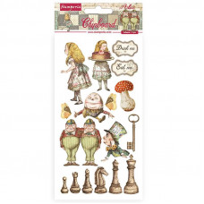 Stamperia - Alice - Chipboard - Looking Glass