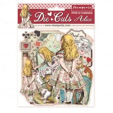 Stamperia - Alice - Assorted Die-Cuts - Wonderland