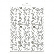 Stamperia - Alice - A5 Soft Mould - Borders