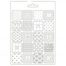 Stamperia - Alice - A5 Soft Mould - Patchwork