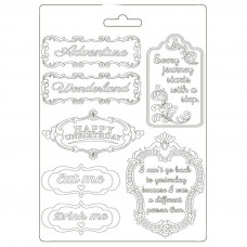 Stamperia - Alice - A5 Soft Mould - Plates