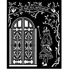 Stamperia - Alice - Thick Stencil - Door