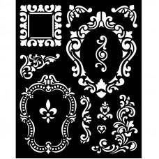 Stamperia - Alice - Thick Stencil - Frames