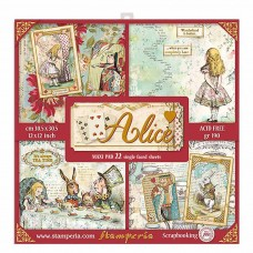 Stamperia - Alice - Scrapbooking Pad
