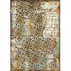 Stamperia - Amazonia - A4 Rice Paper - Texture