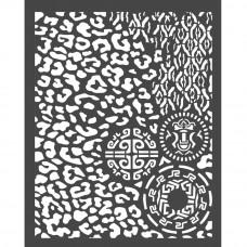 Stamperia - Amazonia - Thick Stencil - Animalier With Tribals
