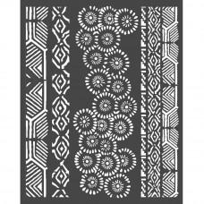 Stamperia - Amazonia - Thick Stencil - Tribals