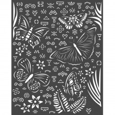Stamperia - Amazonia - Thick Stencil - Butterflies