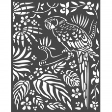 Stamperia - Amazonia - Thick Stencil - Parrot
