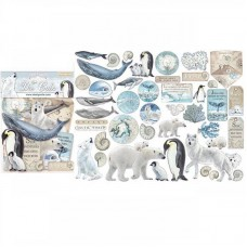 Stamperia - Assorted Die Cuts – Arctic Antarctic