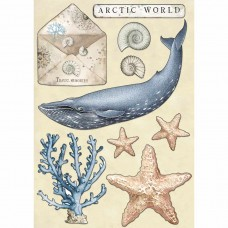 Stamperia - Coloured Wooden Shape – Arctic World