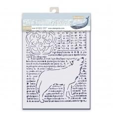 Stamperia - Thick Stencil - Wolf