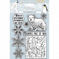 Stamperia HD Natural Rubber Stamp - Moments Full Of You