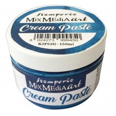 Stamperia - Cream Paste - Metallic Blue