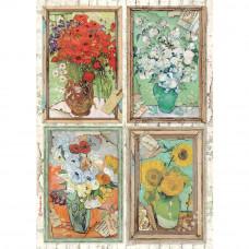 Stamperia - Atelier Des Arts - A4 Rice Paper - Van Gogh