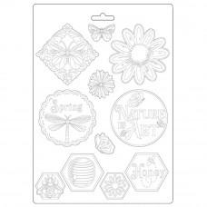 Stamperia - Atelier Des Arts - A4 Soft Mould - Nature Is Art