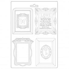Stamperia - Atelier Des Arts - A4 Soft Mould - Frames