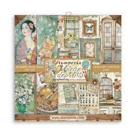 Stamperia - Atelier Des Arts - 12x12 Scrapbooking Paper Pad