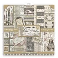 Stamperia - Calligraphy - 12x12 Scrapbooking Pad
