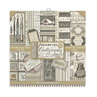 Stamperia - Calligraphy - 8x8 Scrapbooking Pad