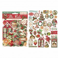 Stamperia - Classic Christmas - Assorted Die Cuts