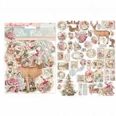 Stamperia - Pink Christmas - Assorted Die Cuts