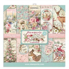 Stamperia - Pink Christmas 12x12