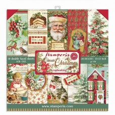 Stamperia - Classic Christmas 12x12