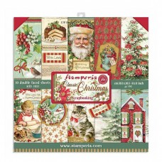 Stamperia - Classic Christmas - Mini Scrapbooking Pad