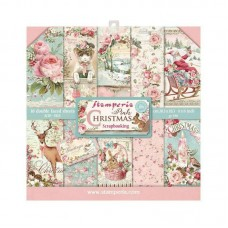 Stamperia - Pink Christmas - Mini Scrapbooking Pad
