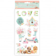 Stamperia - Circle Of Love - Chipboard