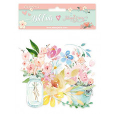 Stamperia - Circle Of Love - Flowers - Assorted Die Cuts