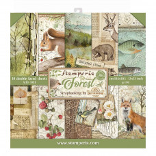 Stamperia - Forest - 12x12 Scrapbooking Paper Pad
