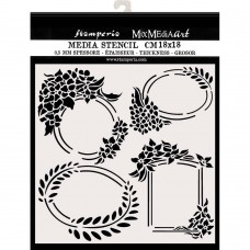 Stamperia - Hortensia - Thick Stencil Labels