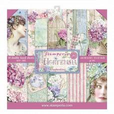 Stamperia - Hortensia - Scrapbooking 12x12 Pad