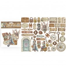 Stamperia - Lady Vagabond - Assorted Die Cuts