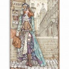 Stamperia - Lady Vagabond - A4 Rice Paper - Lady Vagabond