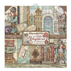 Stamperia - Lady Vagabond - 12x12 Scrapbooking Paper Pad