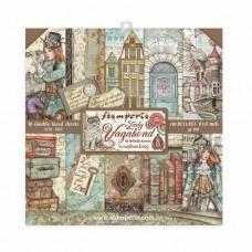 Stamperia - Lady Vagabond - 8x8 Scrapbooking Paper Pad