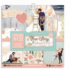 Stamperia - Love Story - Mini Scrapbooking Pad