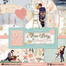 Stamperia - Love Story - 12x12 Scrapbooking Pad