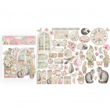Stamperia - Orchids and Cats - Assorted Die Cuts