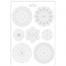 Stamperia - Passion - A4 Soft Mould - Round Lace